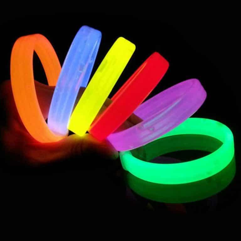 دستبند پهن بلک لایت Glow مدل STBL171