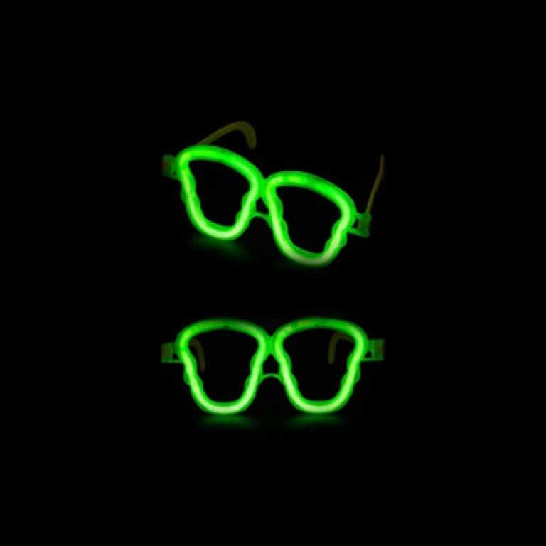 عینک طرح اسکلت بلک لایت Glow مدل STBL143