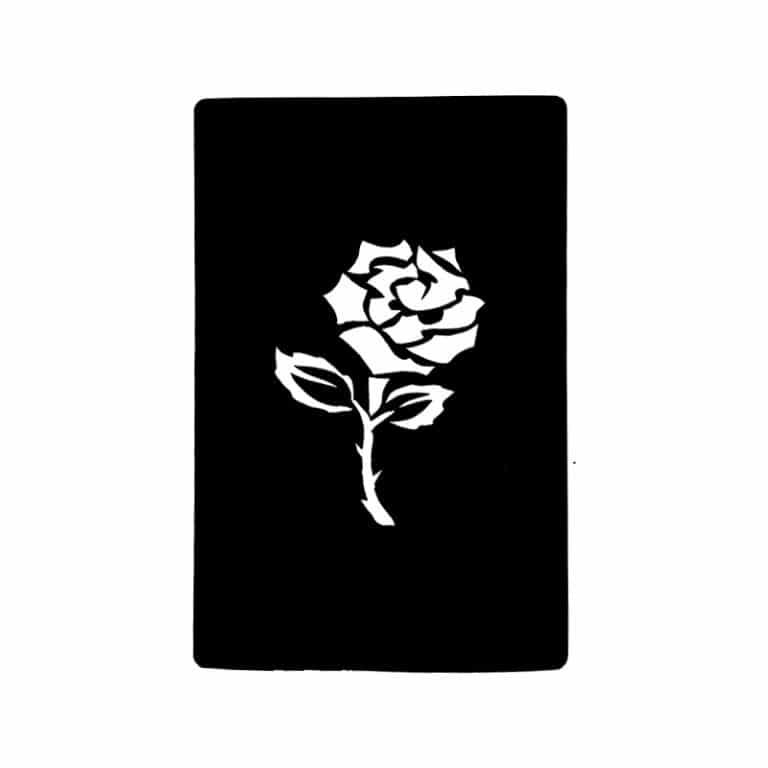 شابلون تتو گل مدل ۵۵۱