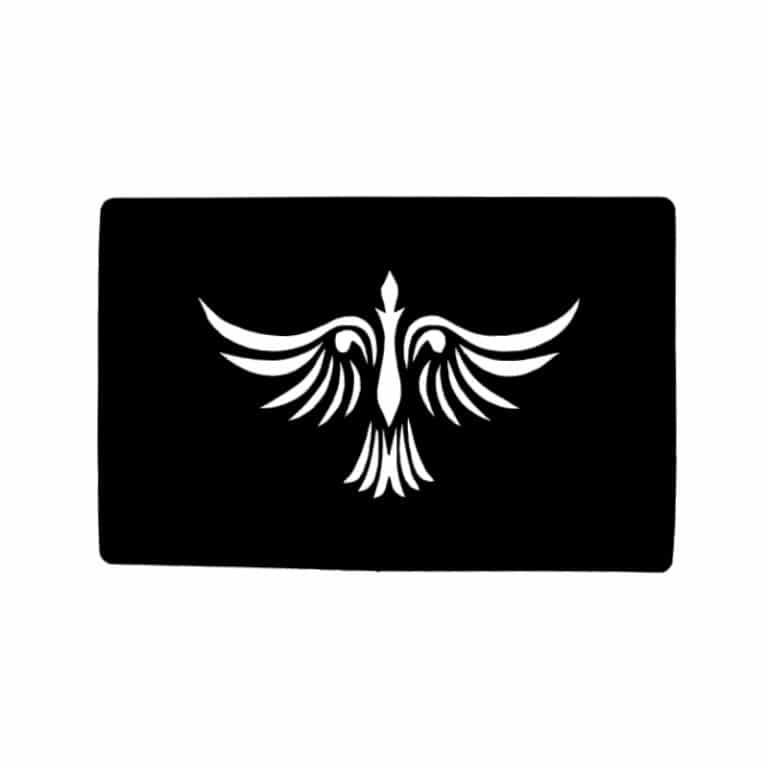 شابلون تتو پرنده مدل ۵۷۱