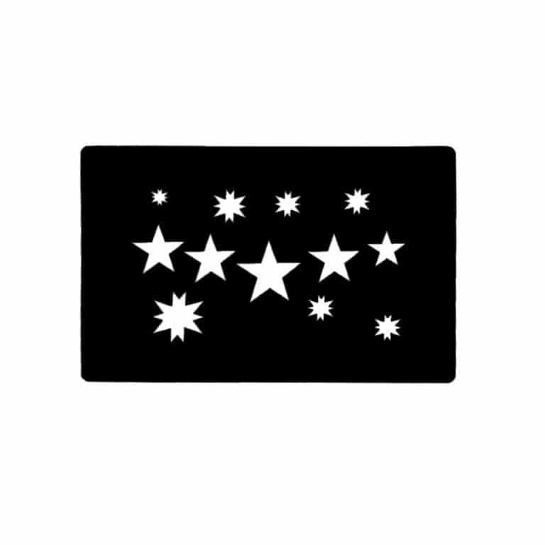 شابلون تتو ستاره مدل ۰۶۰۰