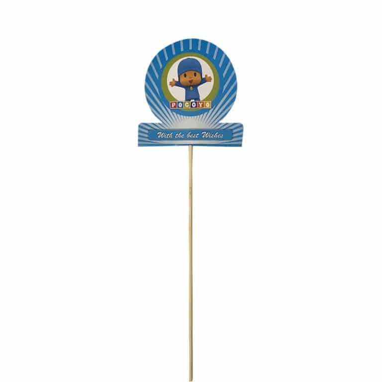 استند تاپر تم تولد پوکویو Pocoyo (بسته ۶ عددی)