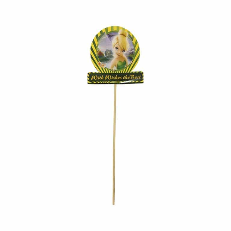 استند تاپر تم تولد تینکربل TinkerBell (بسته ۶ عددی)