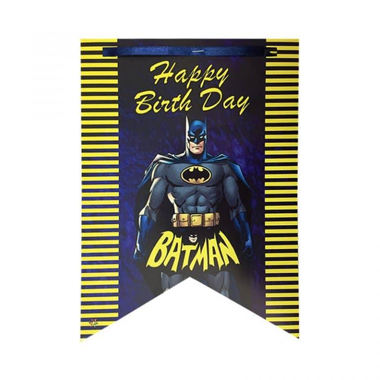 ریسه تم تولد بتمن Batman
