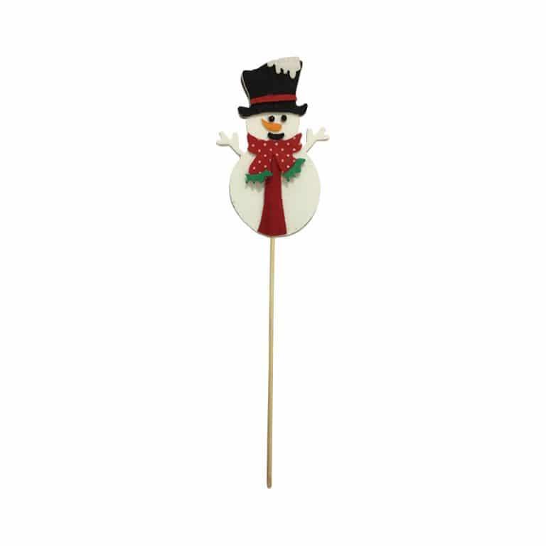 تاپر آدم برفی کریسمس (بسته ۶ عددی)