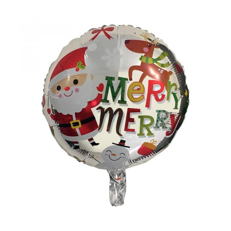 بادکنک فویلی کریسمس