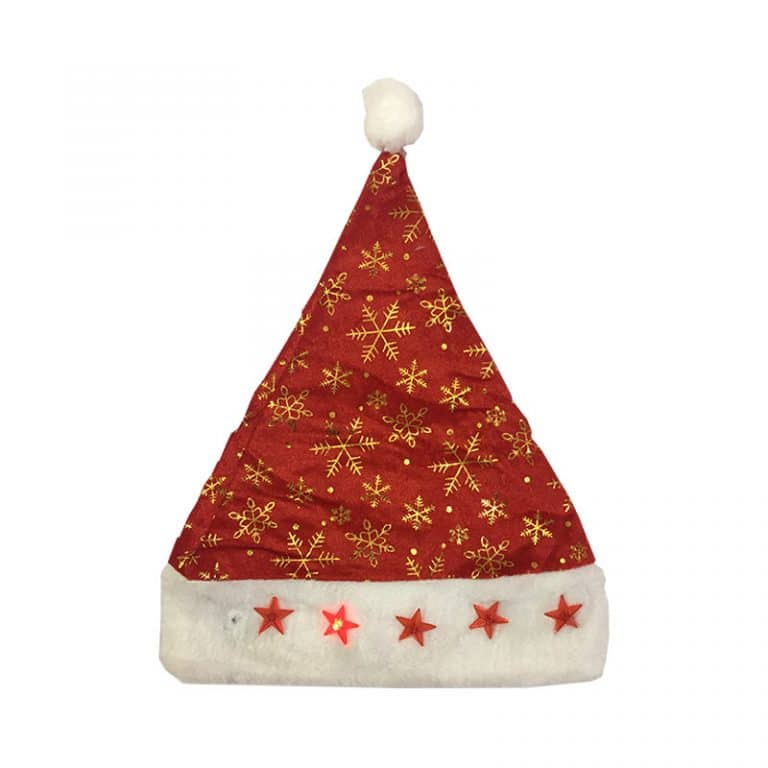 کلاه چراغ دار کریسمس