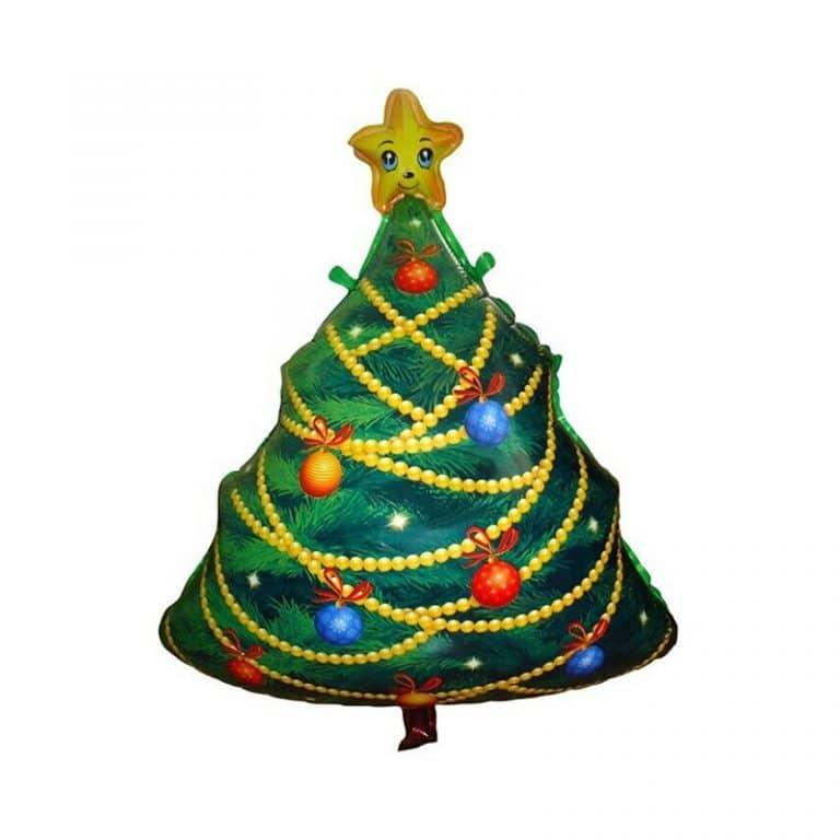 بادکنک فویلی درخت کریسمس