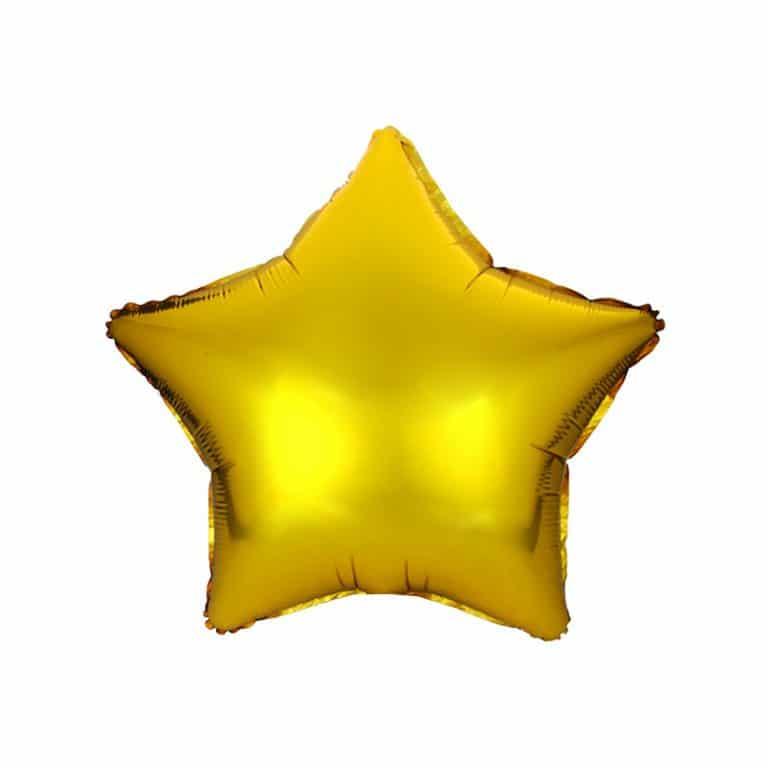 بادکنک فویلی ستاره (بسته ۱۰ عددی)