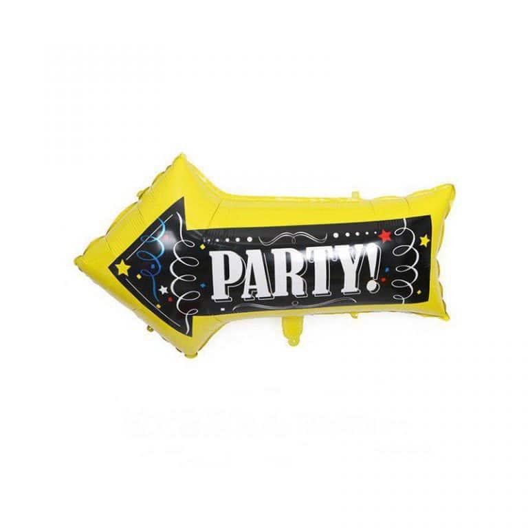 بادکنک فویلی فلش مدل Party