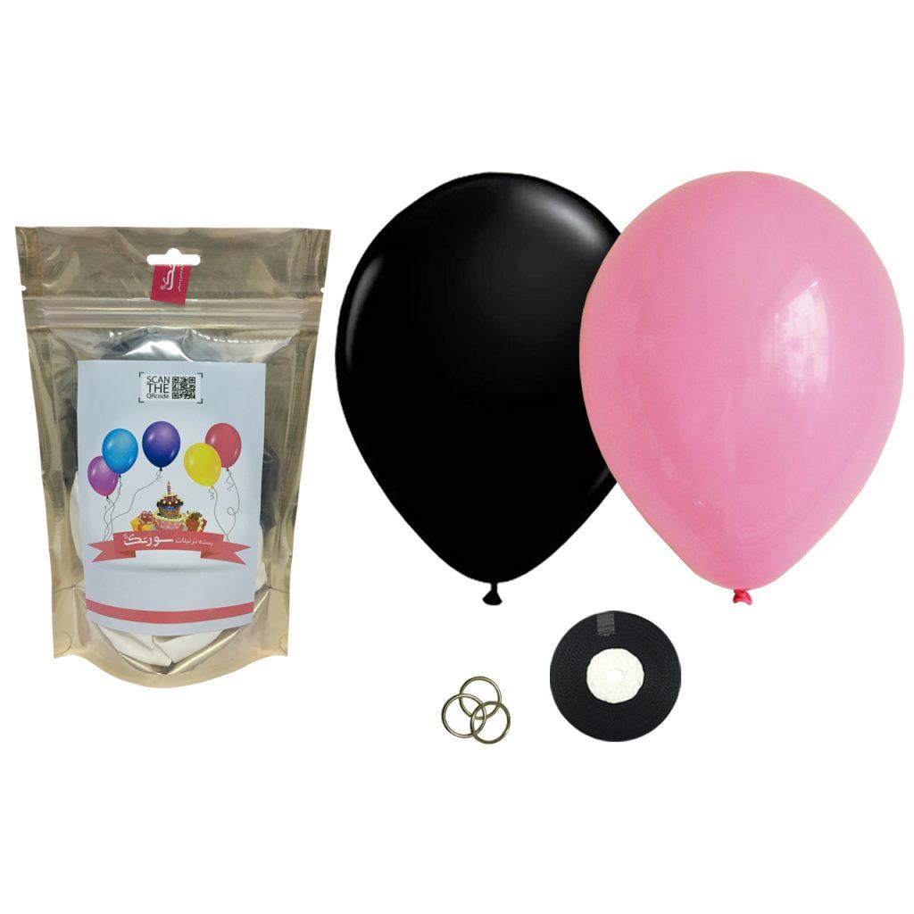 بسته بادکنک Helium Quality سورتک مدل STLH04