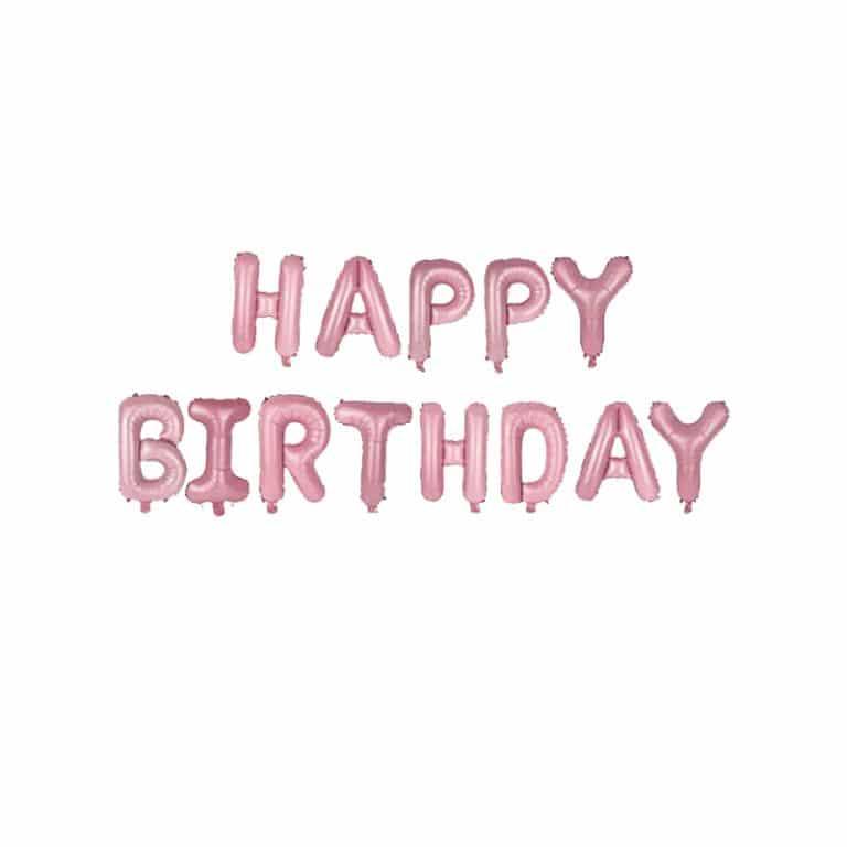 بادکنک فویلی Happy birthday مدل STF108