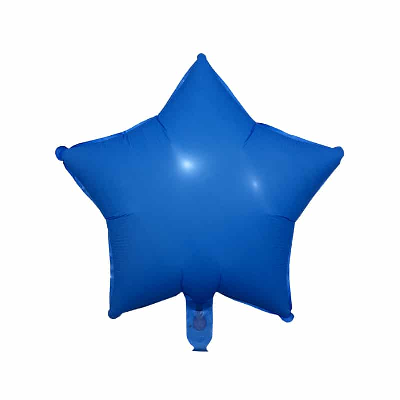 بادکنک فویلی ستاره بلک لایت مدل STF215