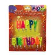 شمع تولد Happy Birthday مدل STC157