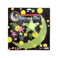 استیکر ماه و ستاره شب تاب Glow مدل STBL218