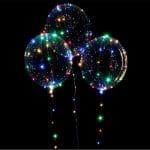 بادکنک شیشه ای بوبو بالن چراغ دار STLB119