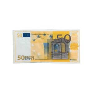 دستمال سفره طرح 50 یورو EURO