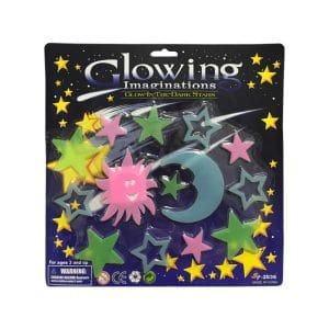 استیکر ماه و ستاره شب تاب Glow مدل STBL213