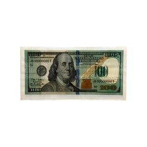 دستمال سفره طرح 100 دلار Dollar