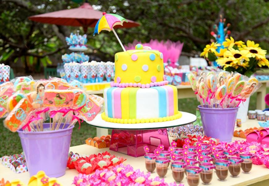 تزئین جشن تولد