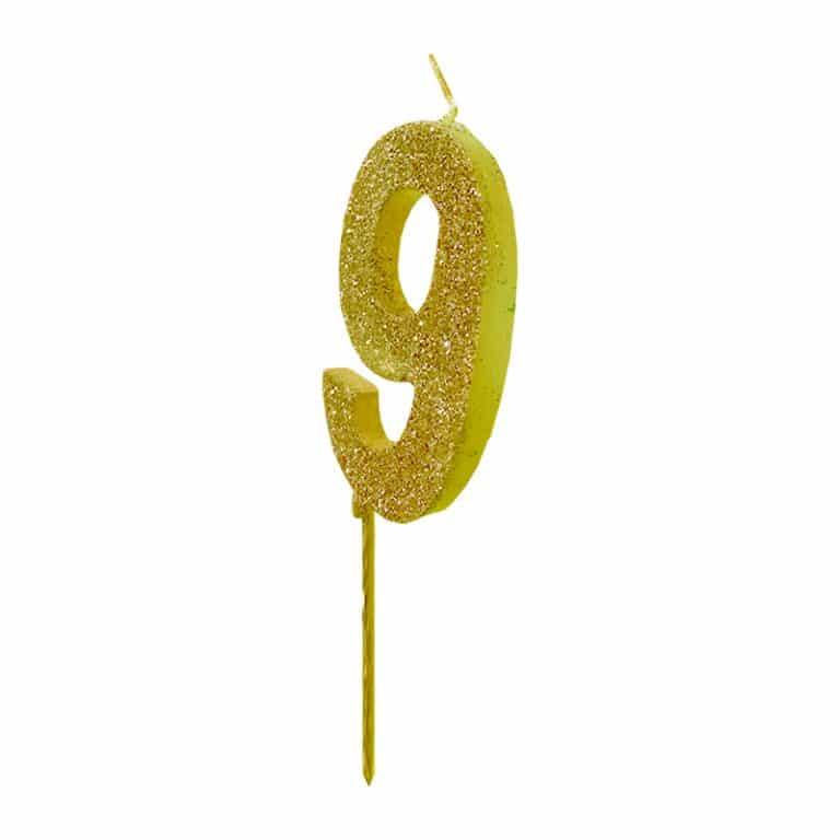 شمع تولد اعداد اکلیلی مدل STC141