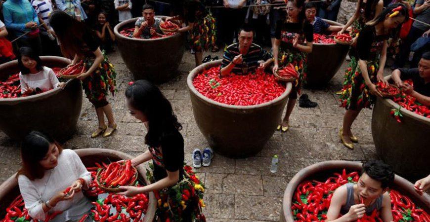 فستیوال فلفل خوری در چین