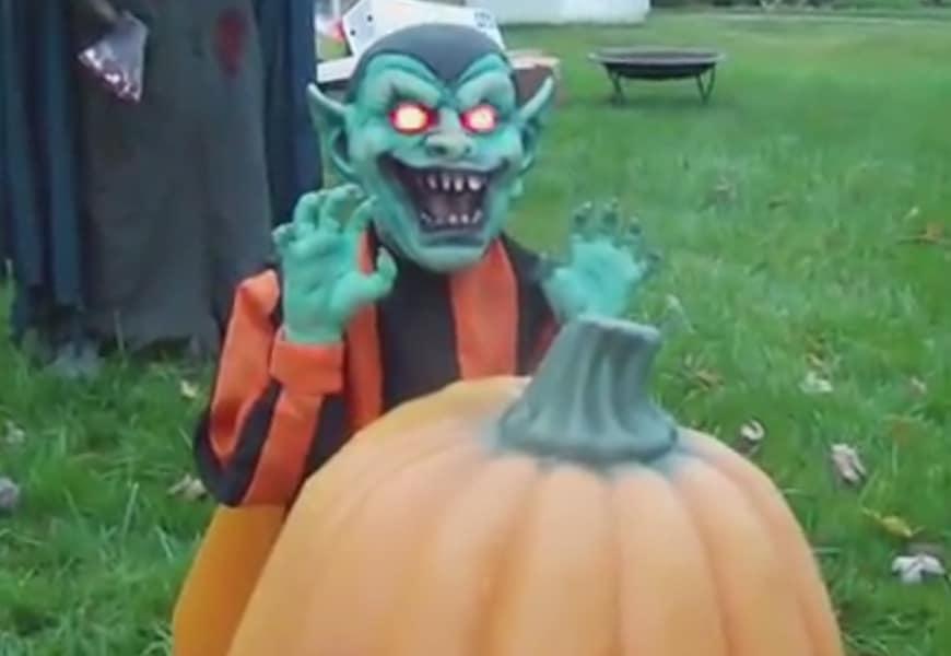 کلیپ نمونه تزئینات هالووین