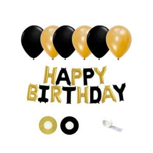 ست تزئینات تولد Happy Birthday مدل STF1006