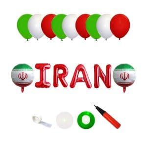 ست تزئینات پرچم ایران مدل STF1012