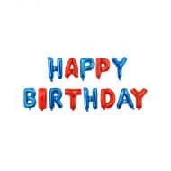 بادکنک فویلی Happy birthday مدل STF111