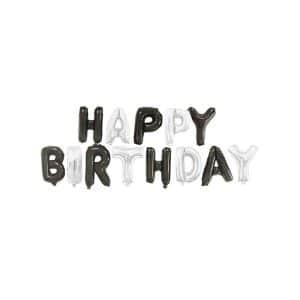 بادکنک فویلی Happy birthday مدل STF113
