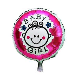 بادکنک فویلی girl نوزاد دختر