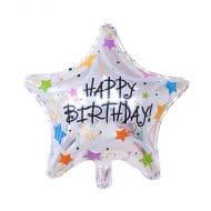 بادکنک فویلی تولد مبارک ستاره