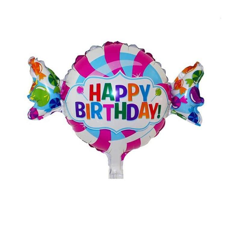 بادکنک فویلی شکلات Happy Birthday مدل STF136