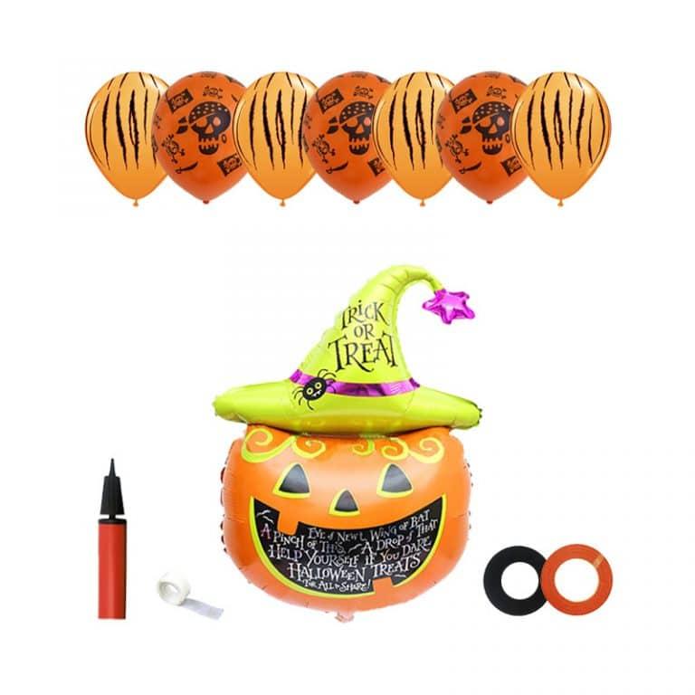ست تزئینات کدو هالووین Halloween مدل STH136