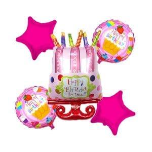 بادکنک کیک تولد