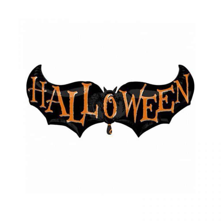 بادکنک فویلی خفاش Halloween مدل STH116