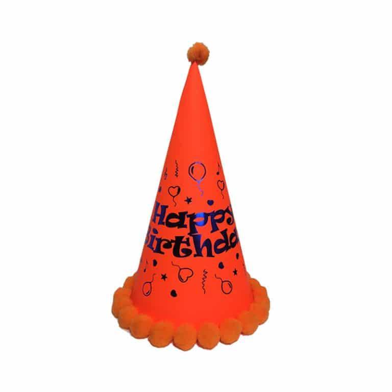 کلاه Happy Birthday بلک لایت مدل STBL236