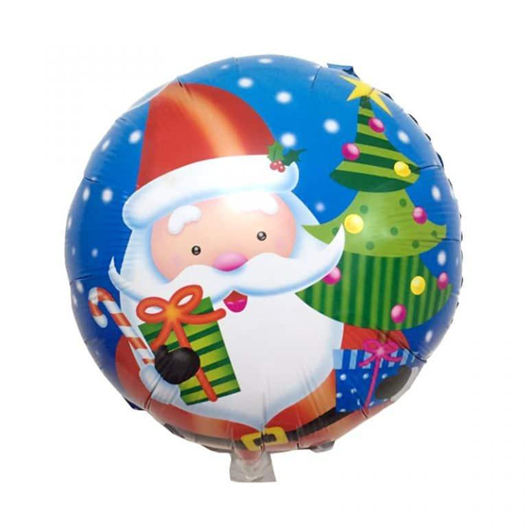 بادکنک فویلی بابانوئل کریسمس مدل STCH104