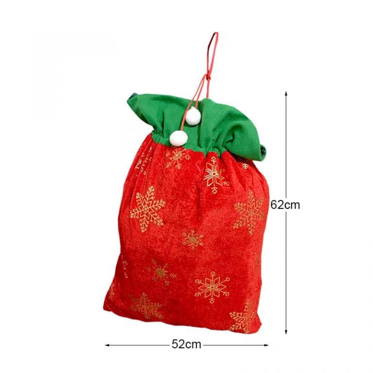 کیسه کادو بابانوئل کریسمس مدل STCH115