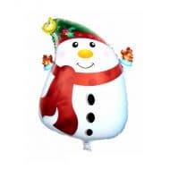 بادکنک فویلی آدم برفی کریسمس