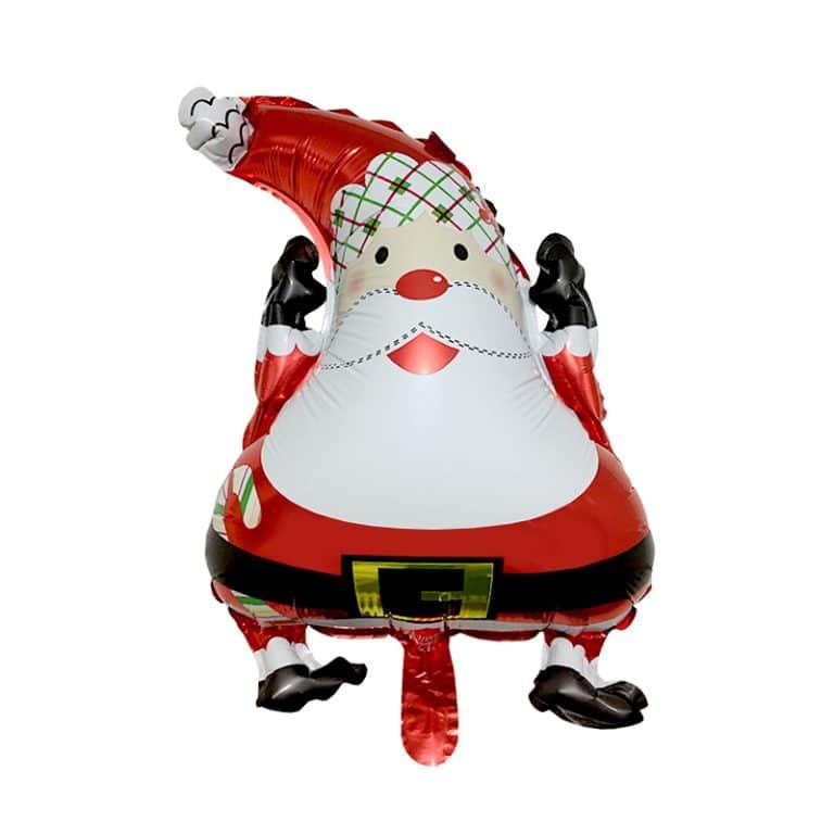 بادکنک فویلی بابانوئل کریسمس مدل STCH168