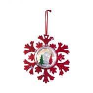 آویز برف کریسمس