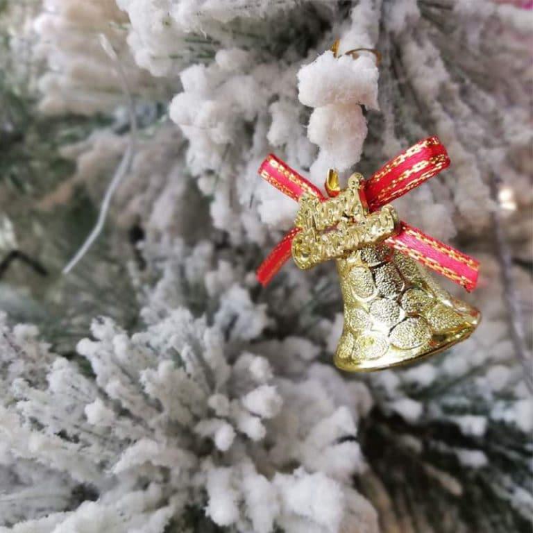 آویز زنگوله کریسمس مدل STCH141