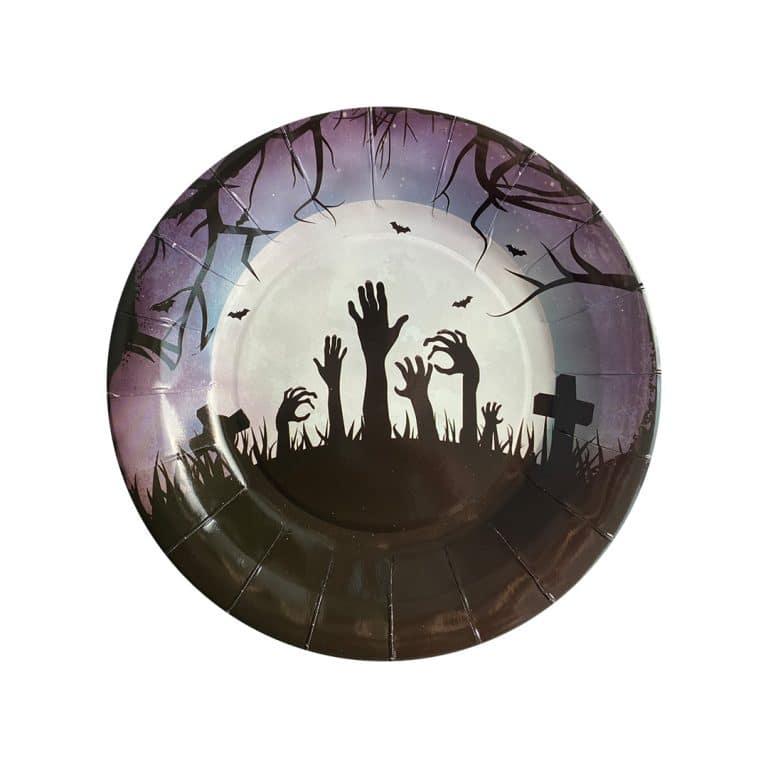 پیش دستی قبرستان هالووین مدل STBT201