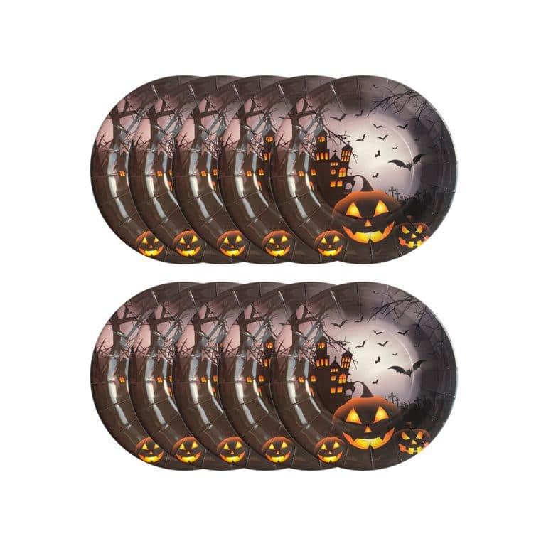 پیش دستی کدو هالووین مدل STBT207