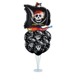 استند بادکنک دزدان دریایی هالووین