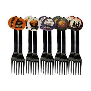 چنگال یکبار مصرف هالووین