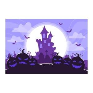بنر قلعه هالووین