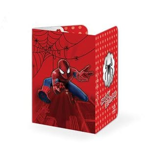 کارت دعوت مرد عنکبوتی